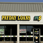 Payday loans store